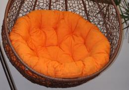 Polstr na závìsnou houpaèku Imperia - oranžový melír