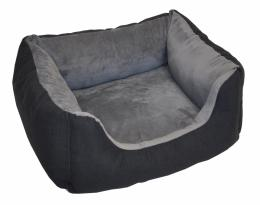 Pelíšek AXIN Deluxe tmavì šedý