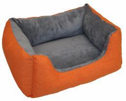 Pelíšek AXIN Deluxe oranžový