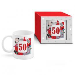 """HRNEK NAROZENINOVÝ """"50"""", 300 ML"""