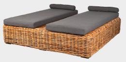 BOREA - ratanová postel
