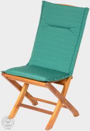 KARLAS Ugo - polstr na židli zelený
