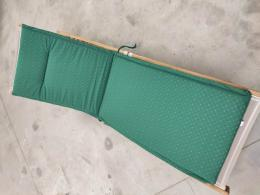 KARLAS Elisa - polstr na lehátko zelený