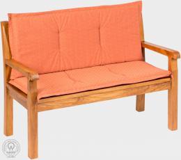 KARLAS Pietro 120 - polstr na lavici cihlový