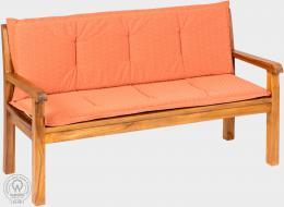 KARLAS Pietro 180 - polstr na lavici cihlový