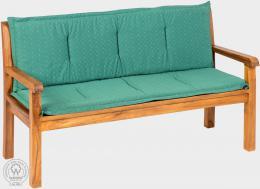 KARLAS Pietro 210 - polstr na lavici zelený