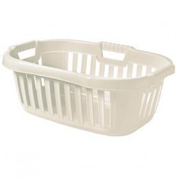 Koš na èisté prádlo - 50 l bílá - 45,5 x 67 x 26,5 cm