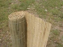Bambusová rohož plotová - štípaná 130x500 cm - DOPRAVA ZDARMA