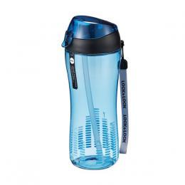 Sportovní láhev 550 ml se silikonovým brèkem - modrá