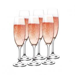 Sklenka na šampaòské LARA 220ml 6ks