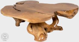 BRANCH X - stolek z teaku