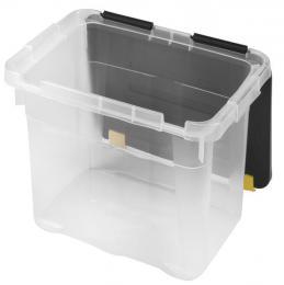 BOX ÚLOŽNÝ S VÍKEM 18L, PLAST, 39,5x27x27,5 CM