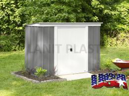 zahradní domek ARROW PT 84 šedý