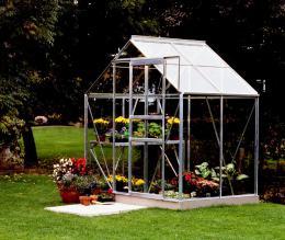 skleník VITAVIA VENUS 2500 èiré sklo 3 mm støíbrný