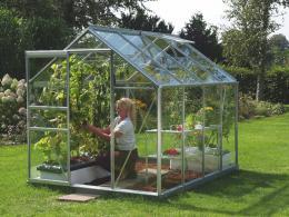 skleník VITAVIA VENUS 5000 èiré sklo 3 mm støíbrný