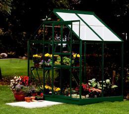 skleník VITAVIA VENUS 2500 èiré sklo 3 mm zelený