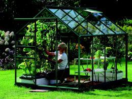 skleník VITAVIA VENUS 5000 èiré sklo 3 mm zelený