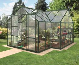 skleník VITAVIA SIRIUS èiré sklo 3 mm zelený