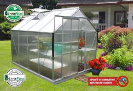skleník VITAVIA TARGET 5000 PC 4 mm støíbrný