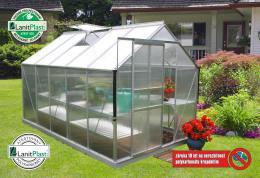 skleník VITAVIA TARGET 6200 PC 4 mm støíbrný
