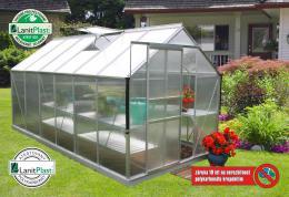 skleník VITAVIA TARGET 7500 PC 4 mm støíbrný