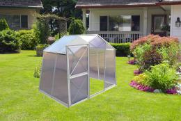 skleník LANITPLAST DODO BIG 8x5 PC 4 mm šedý
