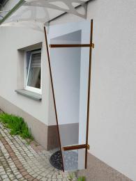 univerzální boèní stìna LANITPLAST UNI hnìdá / PLEXI