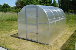 skleník LANITPLAST KYKLOP 2x4 m PC 4 mm