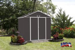 zahradní domek ARROW EZEE SHED 87 tmavì šedý