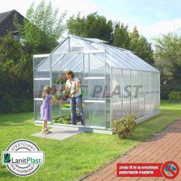 skleník VITAVIA URANUS 11500 PC 6 mm støíbrný