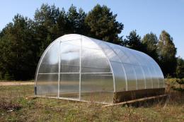skleník LANITPLAST VOLHA 3,3x12 m PC 4 mm
