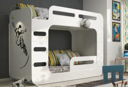 Patrová postel Xaver bílá