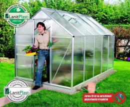 skleník VITAVIA VENUS 6200 PC 4 mm støíbrný