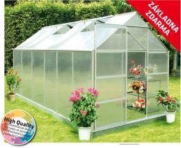 Hliníkový skleník - VeGA 9500 STRONG