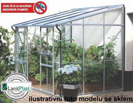 skleník VITAVIA IDA 5200 PC 6 mm støíbrný