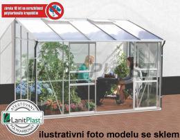 skleník VITAVIA IDA 6500 PC 6 mm støíbrný