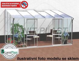 skleník VITAVIA IDA 7800 PC 6 mm støíbrný
