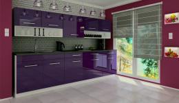 Kuchyòská linka Devil 260 fialový lesk