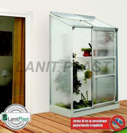 skleník VITAVIA IDA 900 PC 4 mm støíbrný