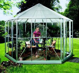 zahradní pavilon VITAVIA HERA 9000 støíbrný