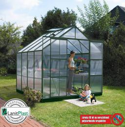 skleník VITAVIA URANUS 6700 PC 4 mm zelený