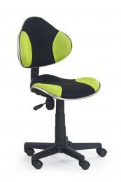 Dìtská otoèná židle - QZY-G2 èerno-zelená