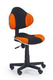 Dìtská otoèná židle QZY-G2 èerno-oranžová