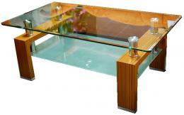 Konferenèní stolek A 08-2 svìtlý oøech
