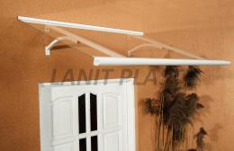 vchodová støíška LANITPLAST OTIS 120/85 bílá
