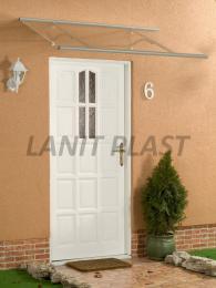 vchodová støíška LANITPLAST OTIS 120/85 støíbrná