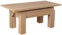 Konferenèní stolek Bravo  tmavý dub