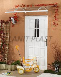 vchodová støíška LANITPLAST OLOR 160/87 bílá