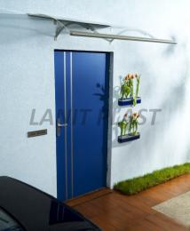 vchodová støíška LANITPLAST OLOR 160/87 støíbrná
