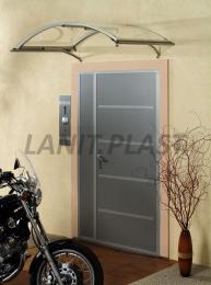 vchodová støíška LANITPLAST LEO 160/90 støíbrná